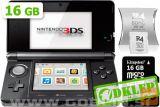 Nintendo 3Ds Črn + R4I Sdhc V2013 + Microsd 16Gb + Sd 2Gb
