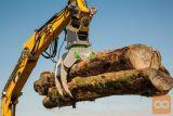 Grabež (prijemalo, klešče, grajfer) za les in hlodovino