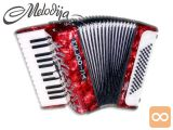 Klavirska Harmonika Pionir 60 Bas Piccolo