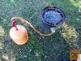 Prenosni plinski žar za avtodom,vrt,hišo.. z 3kg jeklenko