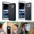Samolepilni nano ovitek cover za Samsung Galaxy S7 ČRN