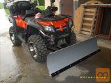 snežni plug ATV