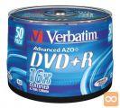 DVD+R 4,7Gb 16x 50-cake Verbatim