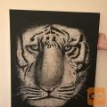 UNIKATNO DELO - slika na platnu - TIGER