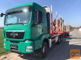 MAN TGS 33,540 6x4 gozdarsko vozilo