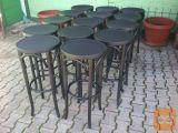 stoli barski drveni