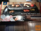 Žar - Raclette žar ploščo in kamnito ploščo