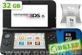Nintendo 3DS XL moder + R4i SDHC v2014 + microSD 32GB + SD