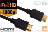 HDMI 1.4 kabel 1080p, 10m