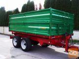Leško 11TT, Traktorska tandem kiper prikolica