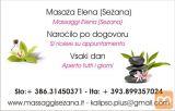 Masaža z aroma olji 75€!Sežana,salon