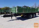 Traktorska prikolica,Brantner TA 18045/2 XXL (5m - gradbena)