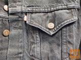 Levis Moška jeans jakna black washed S