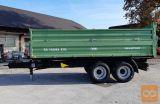 Traktorska prikolica,tandem, Brantner TA14045/2 XXL-5m zaboj