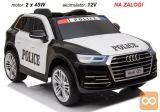Otroški POLICIJSKI avto na akumulator AUDI Q5