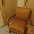 vintage art deco fotelj