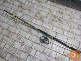 Palica Black cat - rola Daiwa Pro 5500, Hulk 75 kg