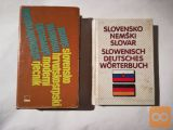 SLOVENSKO-NEMŠKI IN SRBSKOHRVATSKO-SLOVENSKI SLOVAR